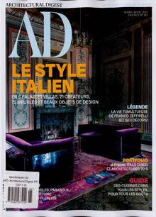Architectural Digest French Magazine Issue NO 165