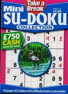 Tab Mini Sudoku Collection Magazine Issue NO 127