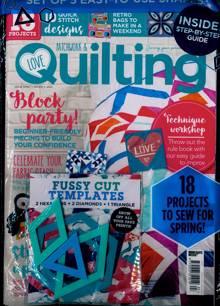 Love Patchwork Quilting Magazine NO 97 Order Online