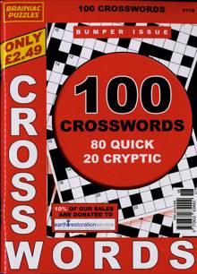 Brainiac Crossword Magazine NO 118 Order Online