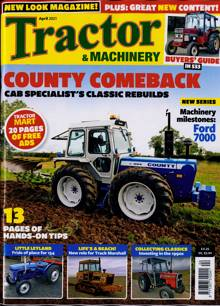 Tractor And Machinery Magazine APR 21 Order Online