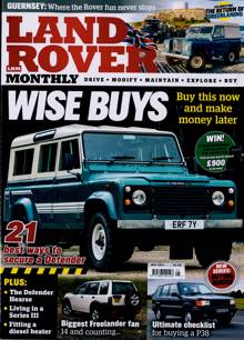 Land Rover Monthly Magazine MAY 21 Order Online