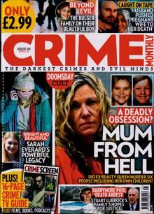 Crime Monthly Magazine NO 25 Order Online