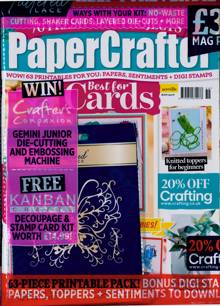 Papercrafter Magazine Issue NO 159