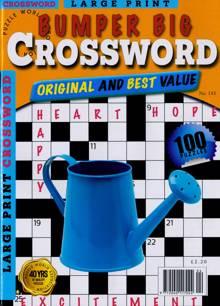 Bumper Big Crossword Magazine NO 143 Order Online