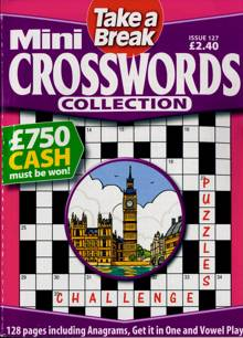 Tab Mini Crossword Coll Magazine Issue NO 127