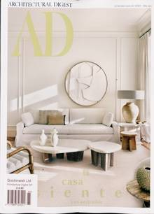 Architectural Digest Spa Magazine Issue NO 165