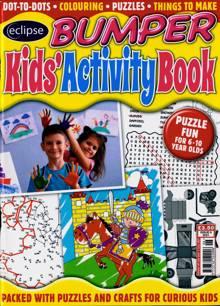 Eclipse Bumper Kids Activity Book Magazine NO 6 Order Online