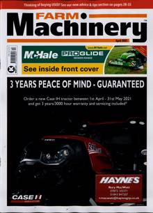 Farm Machinery Magazine APR 21 Order Online