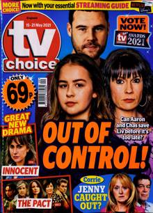 Tv Choice England Magazine NO 20 Order Online