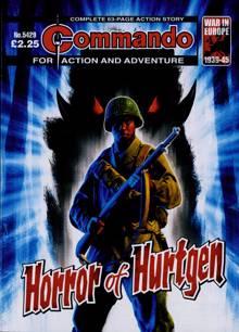 Commando Action Adventure Magazine NO 5429 Order Online