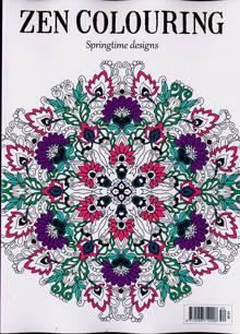 Zen Colouring Magazine Issue NO 52