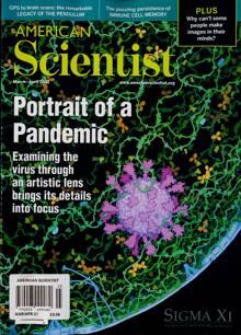 American Scientist Magazine MAR-APR Order Online