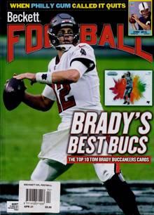 Beckett Nfl Football Magazine APR 21 Order Online