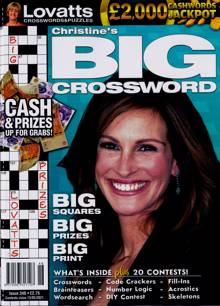 Lovatts Big Crossword Magazine Issue NO 346