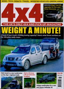 4 X 4 Magazine MAY 21 Order Online