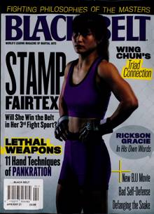 Black Belt Usa Magazine Issue APR-MAY