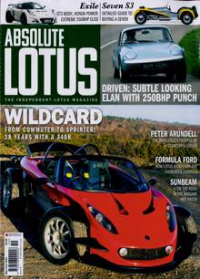 Absolute Lotus Magazine NO 19 Order Online