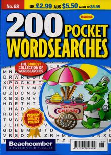 200 Pocket Wordsearches Magazine NO 68 Order Online