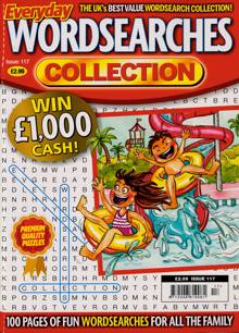 Everyday Wordsearches Coll Magazine Issue NO 117
