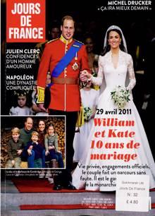 Jours De France Magazine 32 Order Online