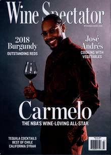 Wine Spectator Magazine MAY 31 Order Online