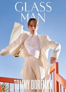 Glass Man Summer 21 Tommy Dorfman Magazine Issue T. Dorfman