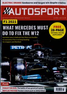 Autosport Magazine 15/04/2021 Order Online