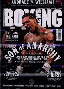 Boxing News Magazine 14/04/2021 Order Online