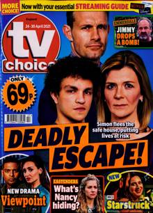 Tv Choice England Magazine No 17 Order Online