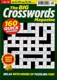Big Crosswords Magazine NO 78 Order Online