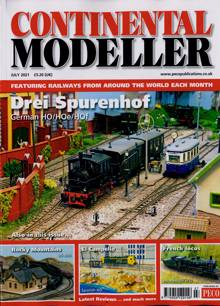 Continental Modeller Magazine JUL 21 Order Online