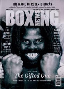 Boxing News Magazine 17/06/2021 Order Online