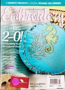 Creative Machine Embroidery Magazine 02 Order Online