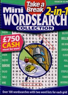 Tab Mini 2 In 1 Wordsearch Magazine Issue NO 38