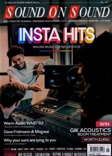 Sound On Sound Magazine MAY 21 Order Online