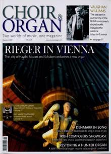 Choir & Organ Magazine MAY-JUN Order Online