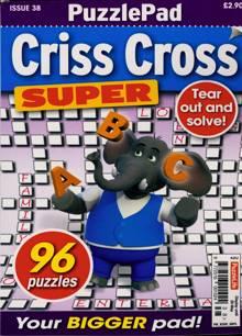 Puzzlelife Criss Cross Super Magazine NO 38 Order Online