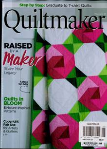 Quiltmaker Magazine Issue MAY-JUN