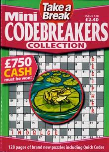 Tab Mini Codebreakers Coll Magazine Issue NO 128
