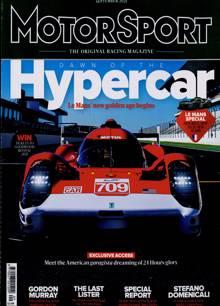 Motor Sport Magazine SEP 21 Order Online