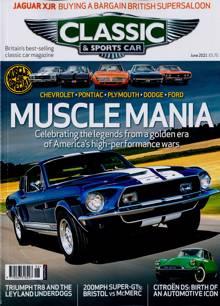 Classic & Sportscar Magazine JUN 21 Order Online