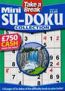 Tab Mini Sudoku Collection Magazine Issue NO 128