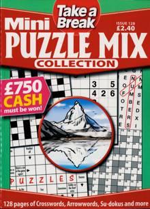Tab Mini Puzzle Mix Coll Magazine Issue NO 128