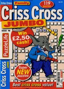 Family Criss Cross Jumbo Magazine NO 98 Order Online