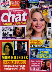 Chat Monthly Magazine AUG 21 Order Online