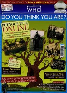Who Do You Think You Are Magazine Issue JUN 21