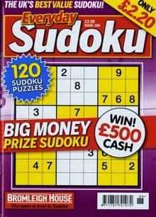 Everyday Sudoku Magazine NO 188 Order Online