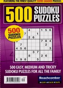 500 Sudoku Puzzles Magazine NO 70 Order Online
