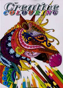 Creative Colouring Magazine NO 7 Order Online